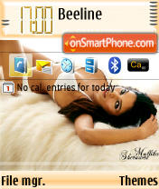 Mallika Sherawat theme screenshot