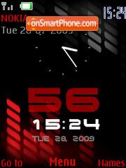Xpress 5800 Red es el tema de pantalla
