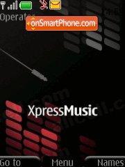 Xpress Music Skin es el tema de pantalla