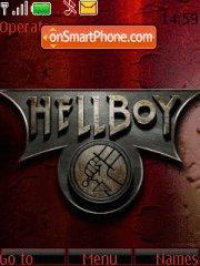 Hellboy theme screenshot