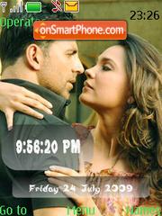 Bhaagam Bhaag SWF Clock theme screenshot