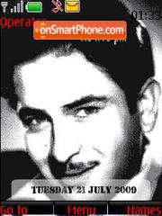 Raj Kapoor SWF Clock theme screenshot