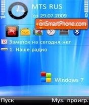 Windows 7 es el tema de pantalla