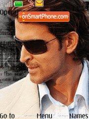 Hrithik Roshan theme screenshot