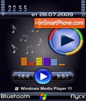 WMP11 tema screenshot