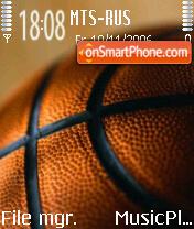 Basketball theme screenshot