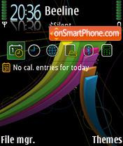 S60 abstract fu theme screenshot