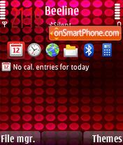 Xpres Musik Touch theme screenshot