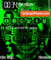 Black Eyed Peas The End FP2 yI theme screenshot