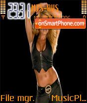 Trish WWE theme screenshot
