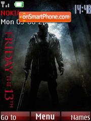 Friday The 13th 2009 es el tema de pantalla