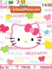 Hello Kitty 30 theme screenshot