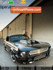 Ford Mustang 72 es el tema de pantalla