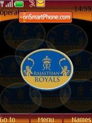 Rajasthan Royals 01 theme screenshot