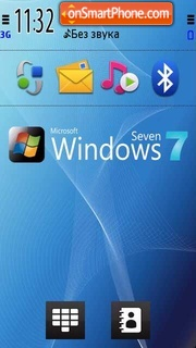 Windows Seven 01 theme screenshot