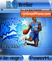 Dwight Howard theme screenshot