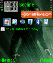 Matrix 05 theme screenshot