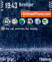 Rain 01 es el tema de pantalla