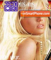 Britney Spears 11 es el tema de pantalla