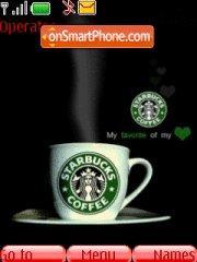 Starbucks es el tema de pantalla