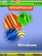 Colored Windows es el tema de pantalla