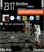 Apollo 01 tema screenshot