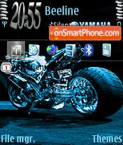 Yamaha Animated theme screenshot