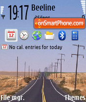 Road 68 theme screenshot