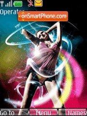 Dance 07 theme screenshot