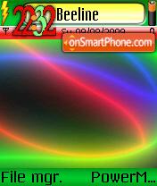 Neon 6289 theme screenshot