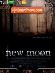 Twilight New Moon es el tema de pantalla