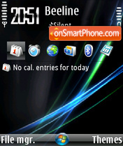 Vista (Flahorn) theme screenshot