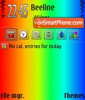 ColorfulDay2 es el tema de pantalla