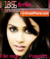Genelia Desouza theme screenshot