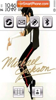 Michael Jackson 12 theme screenshot
