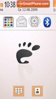 Gnome 01 theme screenshot