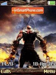 God Of War 3 es el tema de pantalla