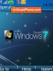 New Windows Seven theme screenshot