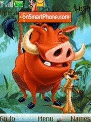 Timon And Pumba theme screenshot