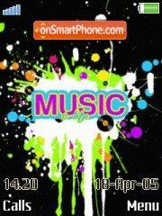 Music4 es el tema de pantalla