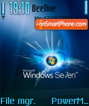 Windows7 theme screenshot