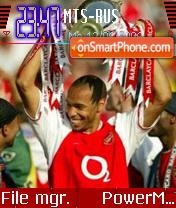 Thierry Henry theme screenshot