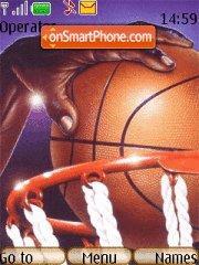 Basket-ball A theme screenshot
