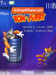 Tom N Jerry tema screenshot