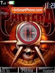 Pantera Clock es el tema de pantalla