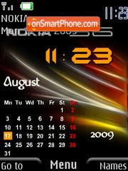 Nokia Calendar theme screenshot