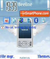 Angel n95 theme screenshot