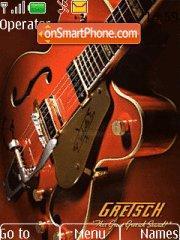 Gretsch Guitar es el tema de pantalla