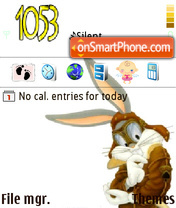 Bugs Bunny 10 es el tema de pantalla