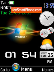 Windows 7 Black theme screenshot